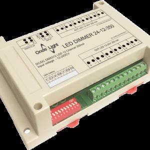 LED DIMMER 24-12-350 Контроллер с токовым выходом 350мА