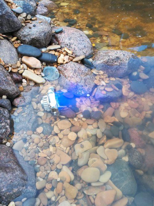 Фонтанный светильник, фонтанный прожектор, управляемый подводный прожектор, управляемый подводный светильник, управляемый фонтанный светильник, подсветка фонтанов, подводная подсветка, подсветка бассейнов, Подводный светильник DMX, DMX52, DMX-512, прожектор IP68, Ondelight, DLA, серия подводных светильников, подсветка пруда, светильник из нержавейки,Подводный фонтанный прожектор DMX