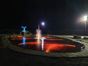 Фонтанный светильник, фонтанный прожектор, управляемый подводный прожектор, управляемый подводный светильник, управляемый фонтанный светильник, подсветка фонтанов, подводная подсветка, подсветка бассейнов, Подводный светильник DMX, DMX52, DMX-512, прожектор IP68,