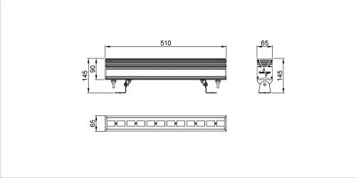 ArcLineMini12R drawing