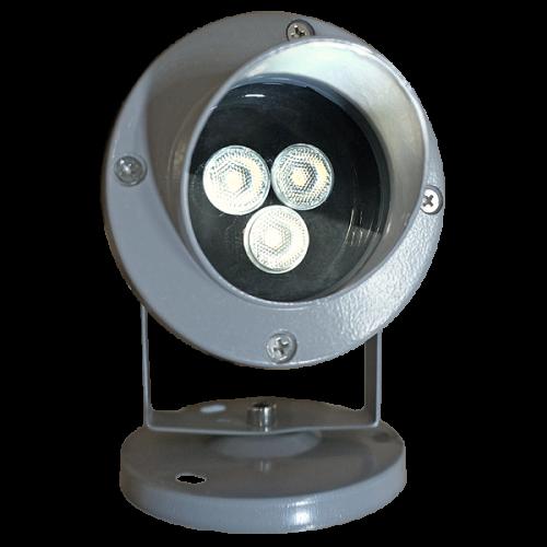 ONDELIGHT MICROSPOT 6W светодиодный прожектор (3 Х 2 ВТ) 6 ВТ одноцветный монохромный, для ландшафтной, и архитектурной подсветкималенький Led прожектор, мини прожектор, точечный прожектор, мини архитектурный прожектор,