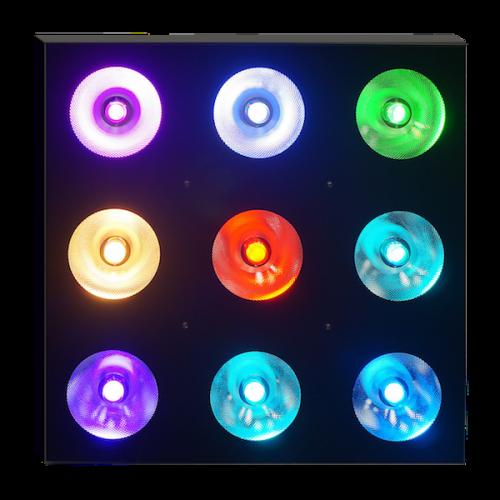 Sun Matrix 90 RGB, лед бар, led bar, блиндер, blinder, матричный прожектор, театральная отбивка, задник сцены, линейный матричный прожектор, Showtec Sunstrip, Dotz Brick, устройство омывающего/заливающего свет, Sun Matrix 90