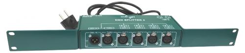 четырехканальный DMX сплиттер, сплитор, сигнала DMX, 4 канала, Ondelight,