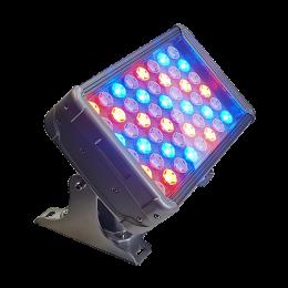 ветильник куб, кубик, прожектор, Led прожектор, 24W,24 Вт, RGBW прожектор, КПИ прожектор, уличный прожектор, Spot, подсветка колонн, подсветка домов, узколучевой уличный прожектор, направленный уличный прожектор, подсветка флага, подсветка памятников, управляемый узколучевой прожектор. управляемый направленный прожектор, прожектор 10 градусов, Ondelight ARC CUBO M RGBW RGBW DMX512 RDM направленный управляемый архитектурный узколучевой прожектор spot для подсветки колонн домов архитектуры ландшафта деревьев,OndeWash 100 RGB DMX RDM мощный архитектурный прожектор 96 Вт. 48 Led (12R12G12B12W) 220В.,DMX 512, RDM IP67